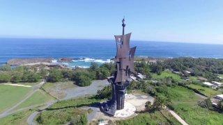 Alcalde de Arecibo se opone a demoler estatua de Cristóbal Colón