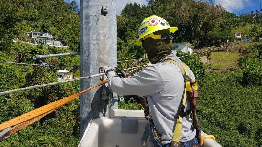 AEE repara avería en Costa Sur