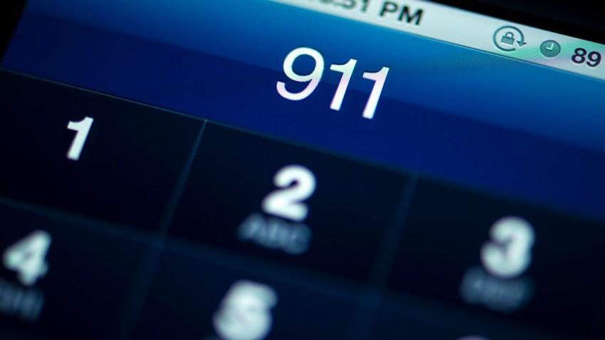 Smartphone calling 911