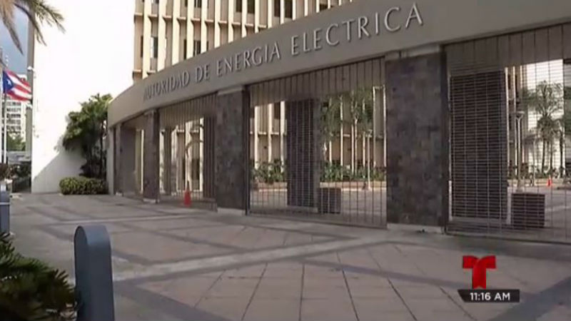 AEE Edificio Autoridad Energia Electrica Puerto Rico Telenoticias