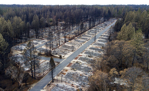 California Wildfires Damages