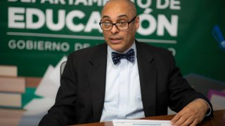 Eligio Hernández, secretario de Educación