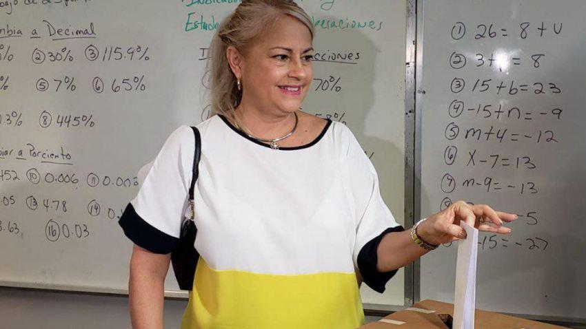 Gobernadora Wanda Vazquez Garced Capture