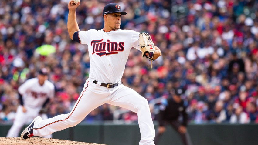 Jose Berrios 5 Fotos cortesiia de Minnesota Twins y Major League Baseball