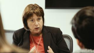 La directora ejecutiva de la Junta de Control Fiscal, Natalie Jaresko