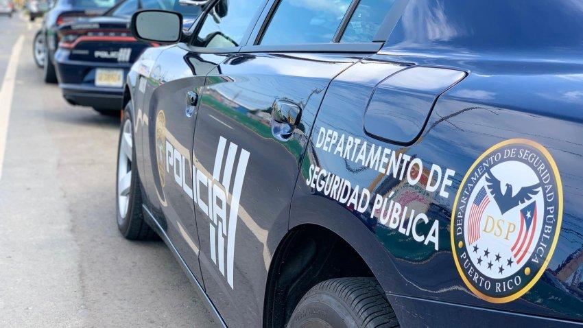 Patrulla de la Policía de Puerto Rico.