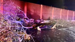 Imagen de accidente en Caimito