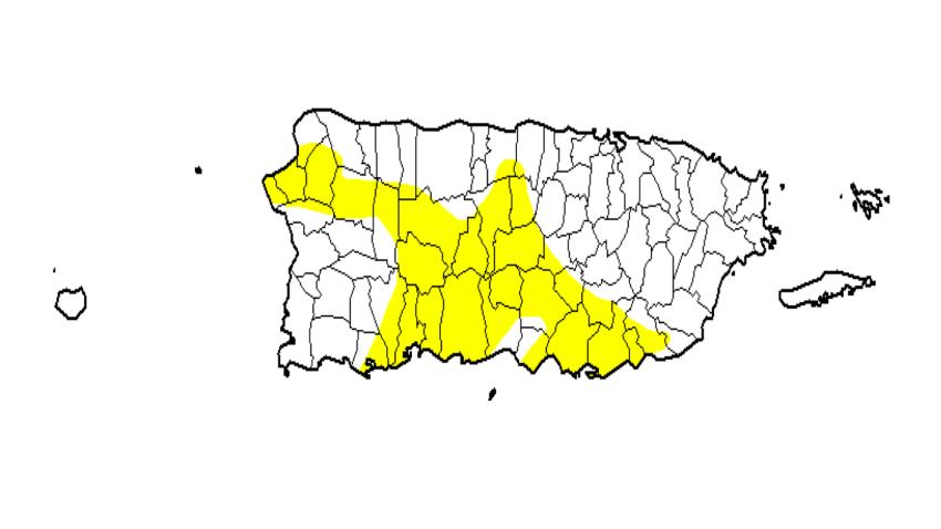 Panorama de sequía presenta expansión significativa al norte y noroeste