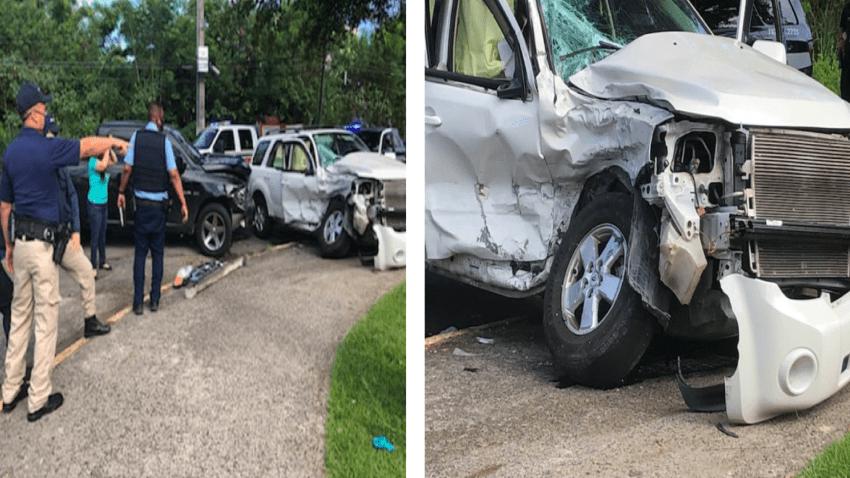 Policía herido durante accidente de tránsito en Río Piedras