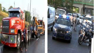 De Caguas a San Juan | reabren carril tras accidente con camión en PR-52