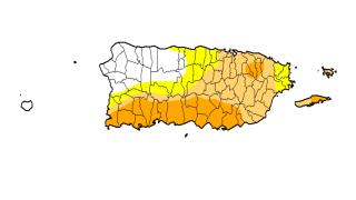Se expande el nivel sequía moderada en Puerto Rico