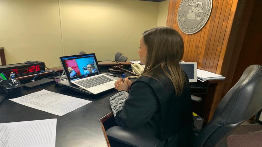 Tribunal atiende asuntos urgentes mediante videoconferencia