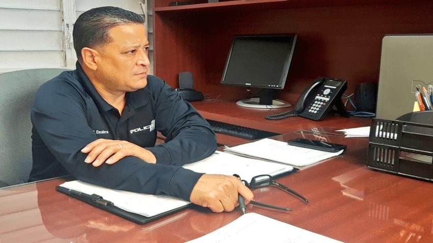 Imagen básica de Henry Escalera, comisionado de la Policía