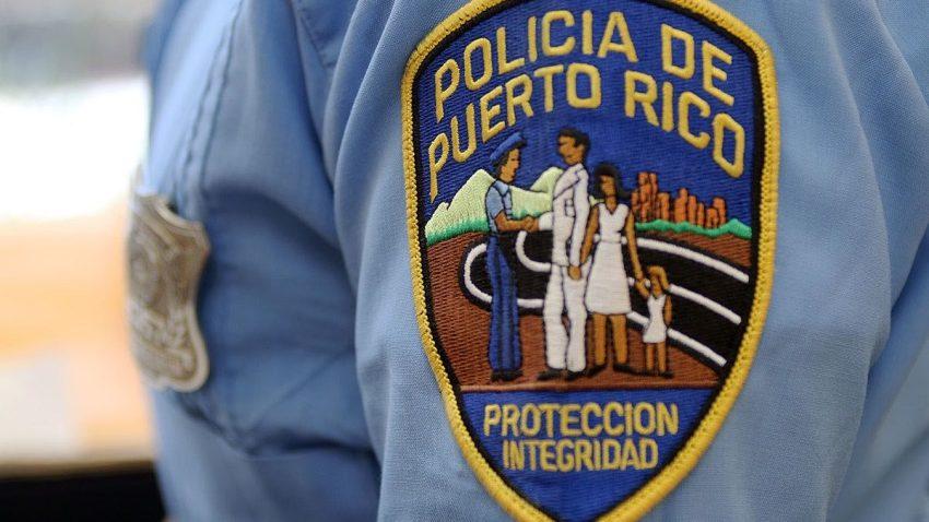 Logo en hombre de la Policía de Puerto Rico