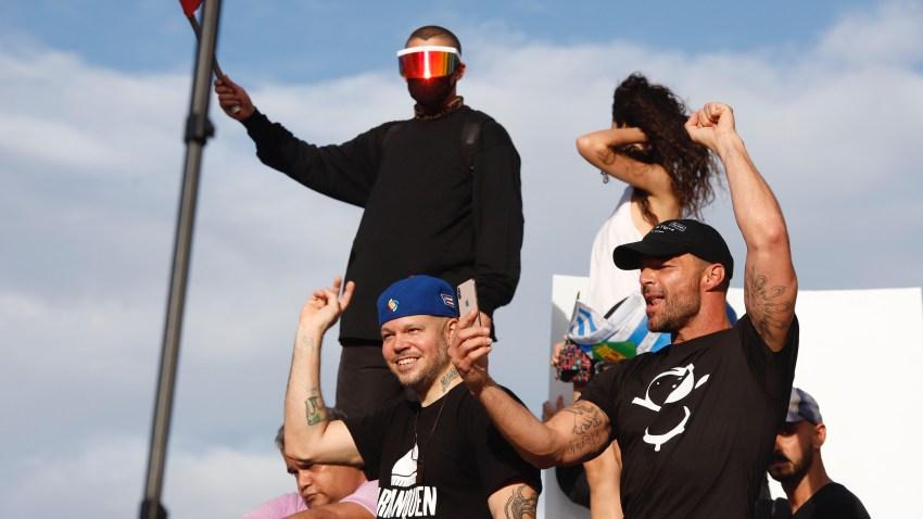 Bad Bunny, Residente y Ricky Martin se unen a manifestación con