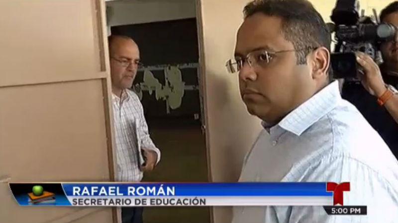 Secretario Educacion Rafael Roman Inicio Clases