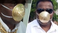 De oro y a la venta por casi $4,000: así es la mascarilla más cara del mundo