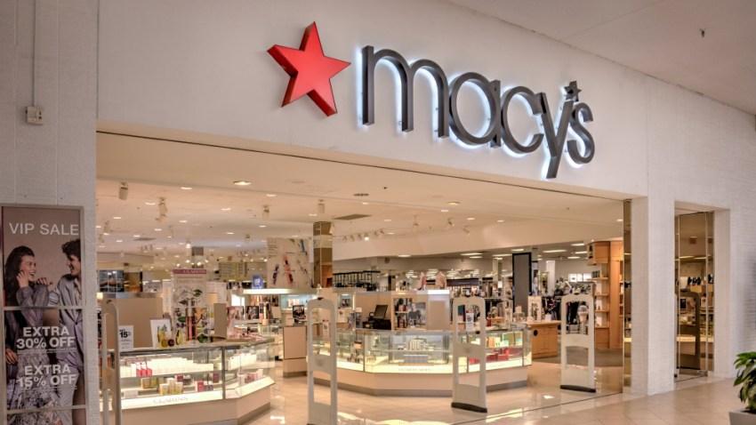 Fachada de una tienda Macy's