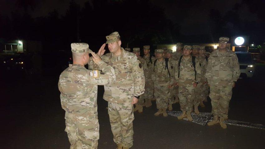 Soldados puertorriqueños.