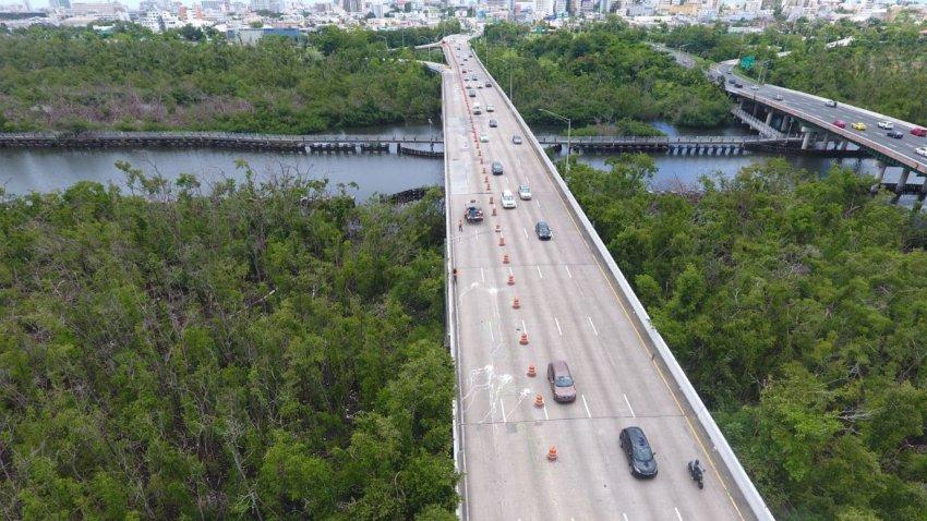 cierre de via en puente arreglos puente cano martin pena Capture