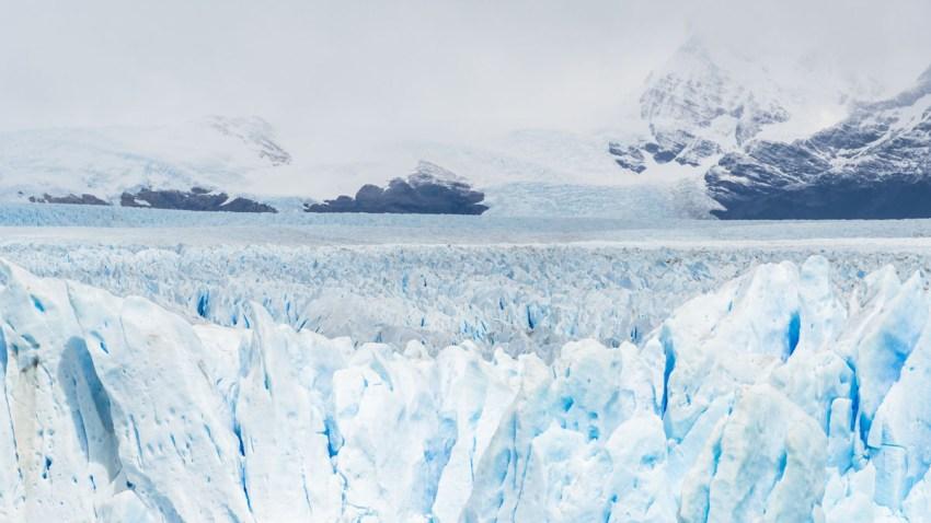 glaciar antartica