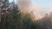 Incendio en zona evacuada de Chérnobil; se elevan niveles de radiación