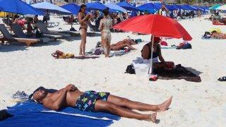 Turismo en playas de Cancún
