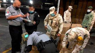 Guardia Nacional decomisan droga