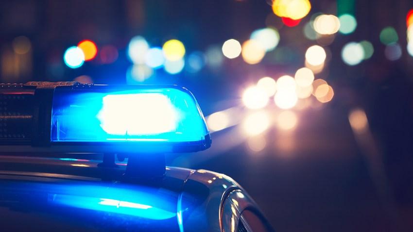 Sirena de una patrulla de la policia.