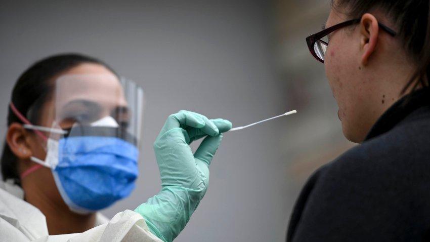 prueba del coronavirus