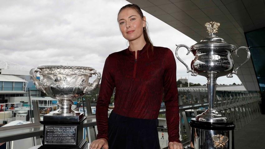 La tenista Maria Sharapova