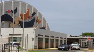 Imagen básica del aeropuerto de Aguadilla