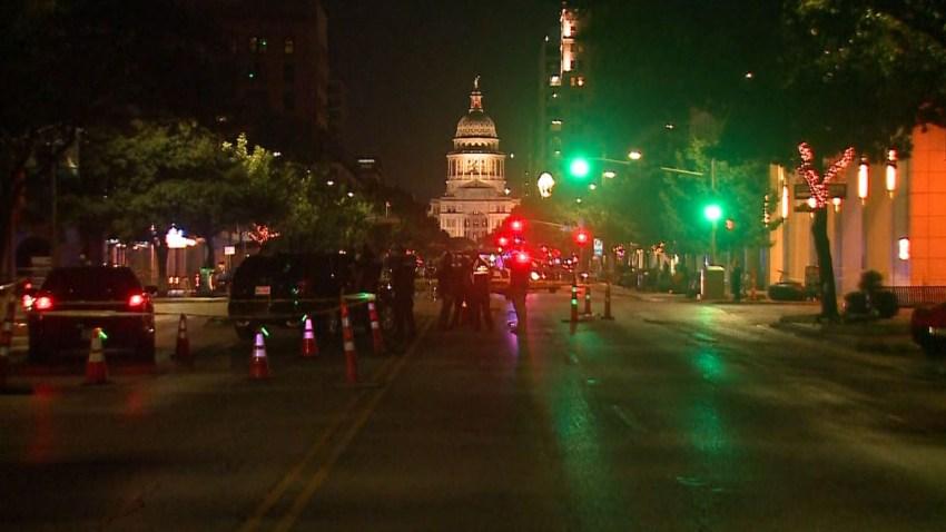 Balacera en manifestación en Austin