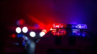 Foto genérica de luces de una patrulla policial.
