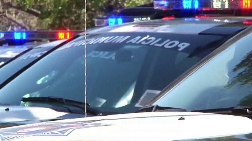 patrulla de la policía municipal de Tijuana