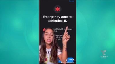 Influencer recomienda aplicación para contactar a familiares durante una emergencia