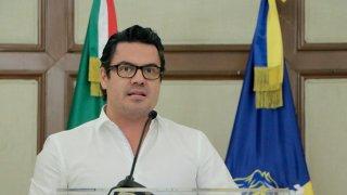 Imagen de archivo del exgobernador de Jalisco asesinado