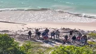 Intervienen con 24 indocumentados en Isla de Mona