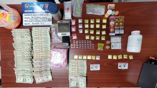 La Uniformada arresta a cuatro personas y ocupa 32 bolsas de cocaína tras allanamiento en Lares.
