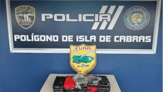 Las autoridades incautaron un cargamento, valorado en $500 mil, de cocaína en Cataño.