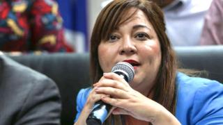 La alcaldesa de Morovis, Carmen Maldonado González