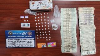 La Uniformada ocupó drogas y dinero tras una intervención en Lares.
