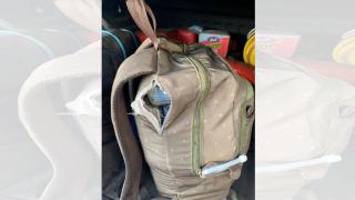 Autoridades ocuparon 82 kilos de cocaína dentro de mochilas en San Juan.