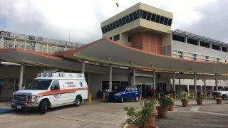 El hospital Centro Médico de Río Piedras