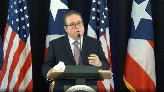 Secretario de Justicia, Domingo Emanuelli