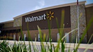Walmart supercenter storefront