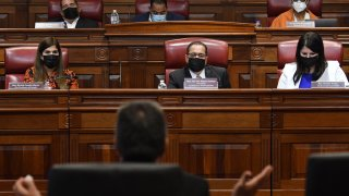 Comisión de Nombramientos del Senado, presidida por José Luis Dalmau