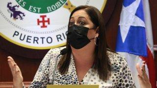 La representante Estrella Martínez Soto, presidenta de la Comisión sobre Derechos del Consumidor, Servicios Bancarios e Industria de Seguros Cámara de Representantes
