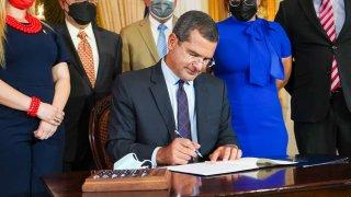 El gobernador de Puerto Rico, Pedro Pierluisi