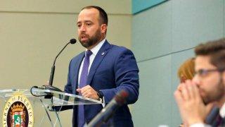 El director ejecutivo de la Autoridad de Asesoría Financiera y Agencia Fiscal (AAFAF) licenciado Omar Marrero